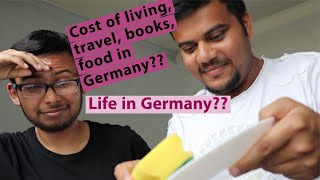 Cost of living in Germany RWTH Aachen 🇩🇪  - Housing, Transport, Utilities, Books ft. Indian 🇮🇳