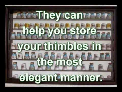 How to Organize your Thimble Collection with Thimble Display Cases ...
