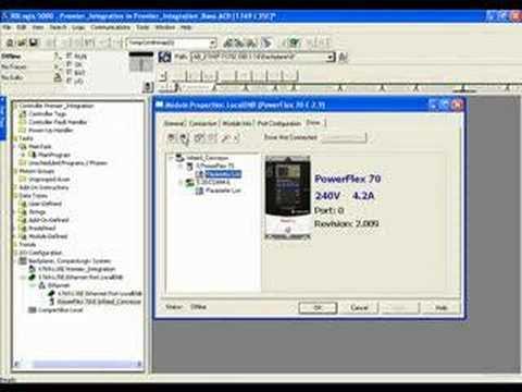 RSLogix 5000 v16 Premier Drives Integration