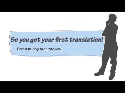 Tutorial about the Website for freelance translators