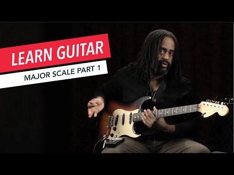 Beginner Guitar Lessons: How to Play a Major Scale Part 1 | Guitar | Lesson | Beginner