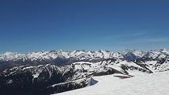 Panorama des Pyrénées centrales, vues depuis le Mont Né enneigé !