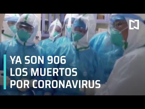 Coronavirus: Asciende a 906 la cifra de muertos por la enfermedad - Las Noticias