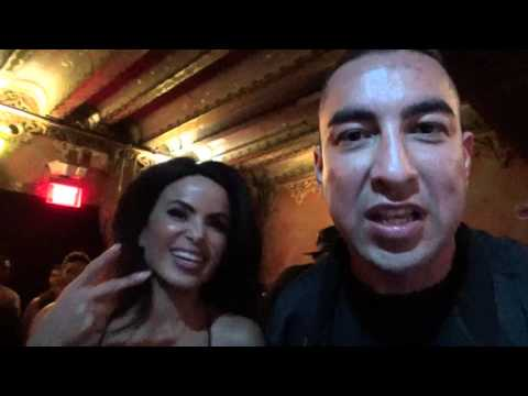 Tattoo and Alysha Del Valle message to donald trump! Es Boxing