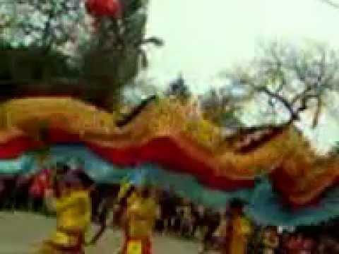 Múa rồng hội Chử đồng Tử xã tự nhiên - thường tín - Hà nội 06