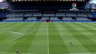 Calentamiento RC Celta vs Real Betis