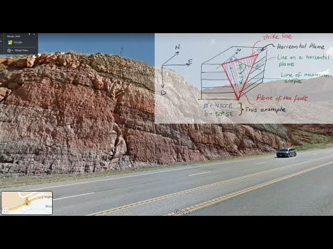 L20 Fault mapping: strike, dip, stereonets and geological maps