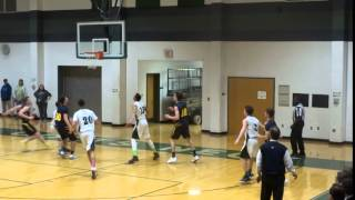 Ryan LaRocca hits a three out of the corner