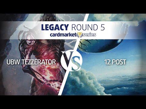Cardmarket Series Frankfurt – Legacy Round 5:  Tezzerator vs 12 Post