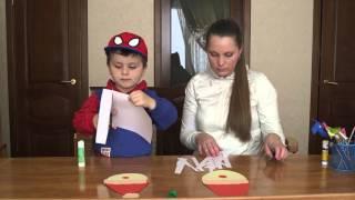 видео Новогодняя аппликация для детей 6-7 лет