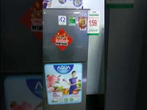 DigiCity Ngọc Hồi training sản phẩm tủ lạnh Aqua AQR - U205BN