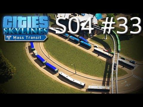 Retörn of se Bus-Overkill: Straßen-Entstopfen-Edition - Cities: Skylines S04#33 [DEUTSCH HD]