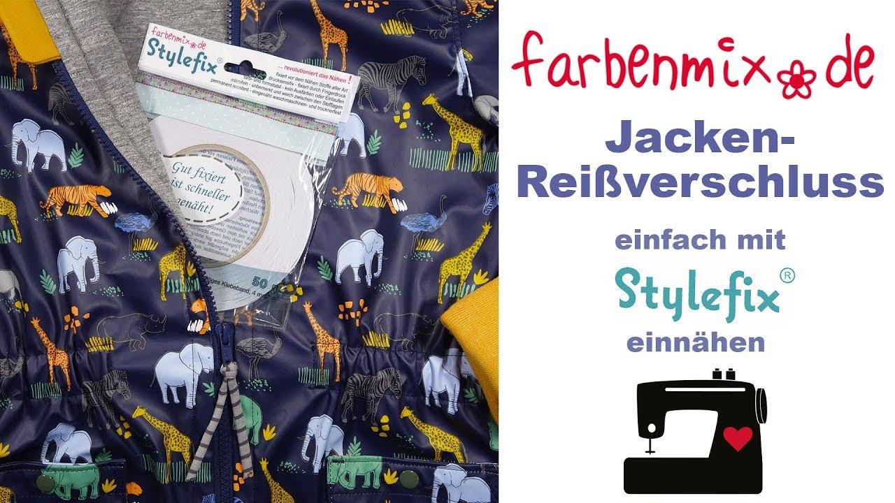 Farbenmix Stylefix doppelseitiges Textilklebeband 50 m x 4 mm
