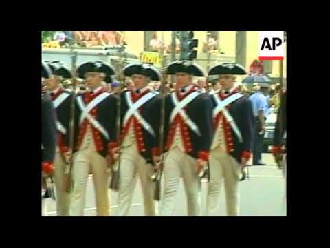 USA: WASHINGTON: ANNUAL 4TH OF JULY PARADE