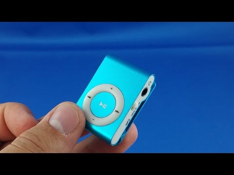 mini MP3 player from Aliexpress.com Unboxing