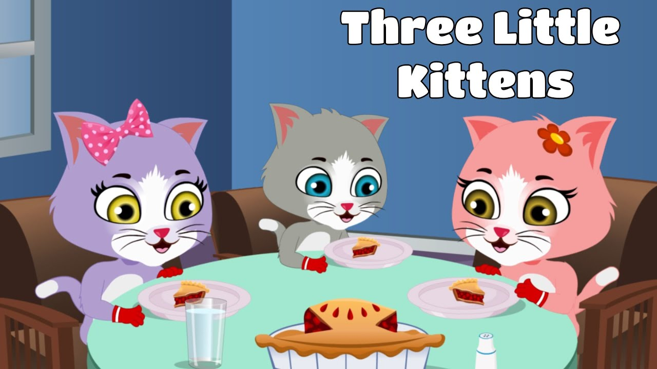 Three Little Kittens | Nursery Rhymes and Songs for Kids | Booga Boo