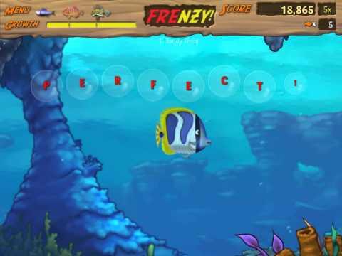 Обзор игры симулятор рыбы Feeding Frenzy 2