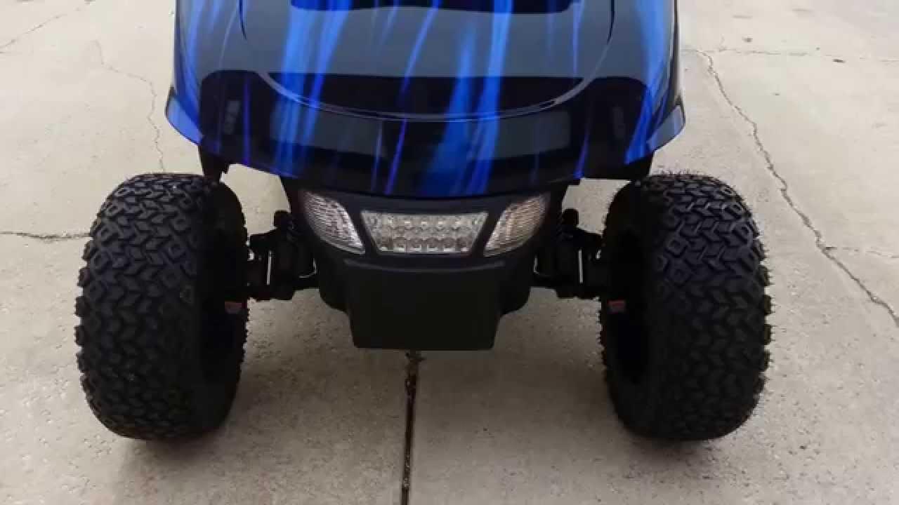 Lifted Ezgo Rxv Golf Cart Sweitzers Custom Paint Custom