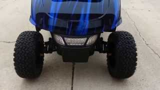 lifted ezgo rxv golf cart sweitzers custom paint custom seats turn signals brake lights more