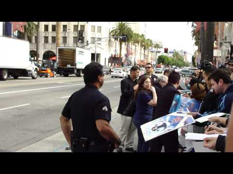 Witches Of Eastwick Director George Miller Signing Autographs At The Happy Feet 2 Premeire.mp4