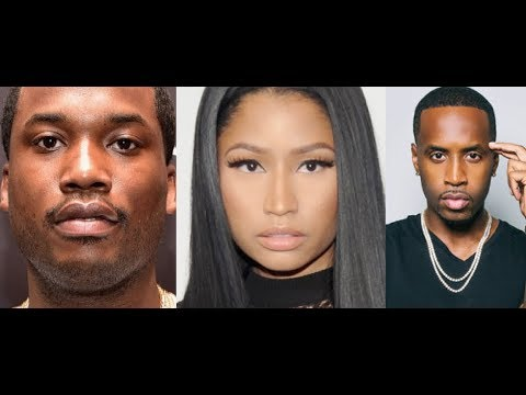 Nicki Minaj SPARKS Pregnancy Rumors and Meek Mill New Girl Revealed is Nicki Jealous of safaree?