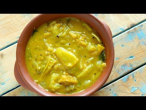 Green Tomato Pachadi I Thakkali Pachadi for Rice
