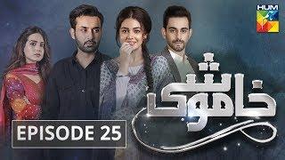 Khamoshi Episode #25 HUM TV Drama