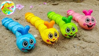 Learn colors with cute deep friends - H1155G ToyTV children's toys