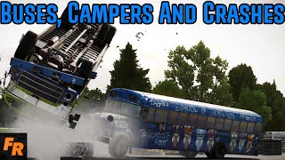 Buses, Campers And Crashes - Wreckfest