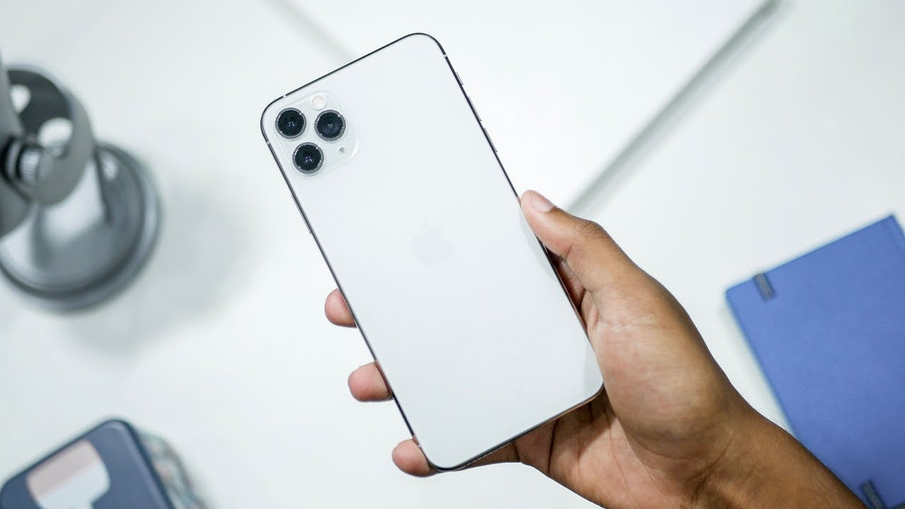 iPhone 11 Pro Max Silver Unboxing !!