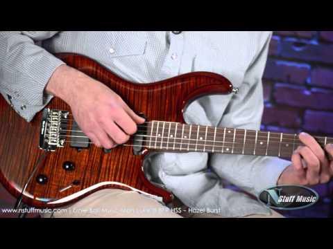 Ernie Ball Music Man Luke III BFR HSS - Hazel Burst | N Stuff Music