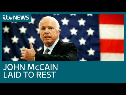Obama and Bush tributes echo Trump criticism at John McCain funeral | ITV News