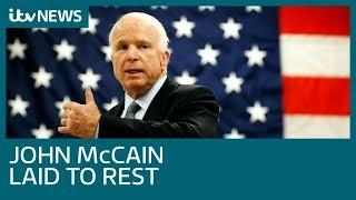 Obama and Bush tributes echo Trump criticism at John McCain funeral | ITV News