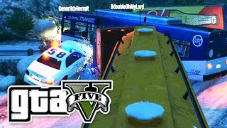 GTA 5 - RACE UP THE MOUNTAIN 2! - E25 | (Grand Theft Auto 5 Online Gameplay PC | Funny) Pungence
