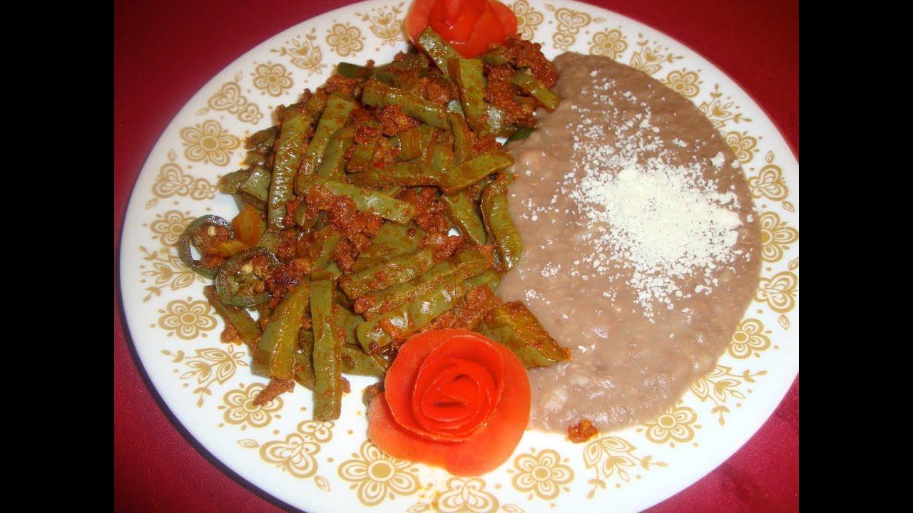 Receta de nopales con chorizo comida mexicana la for Cocinar en 5 min