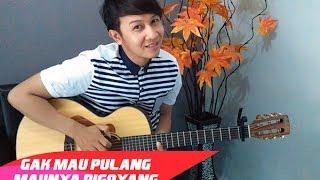 Gambar cover (Iva Lola) Gak Mau Pulang Maunya Digoyang - Nathan Fingerstyle | Guitar Cover