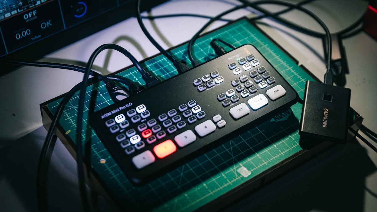 Tested Blackmagic Atem Mini Pro Iso Video Switcher Youtube