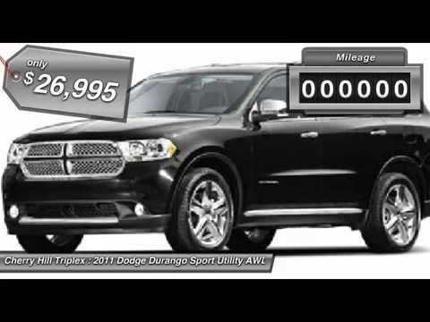 Cherry Hill Triplex >> 2011 Dodge Durango Cherry Hill Nj 11964 Youtube