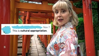 What happens when TOURISTS wear kimono【日本語CC】