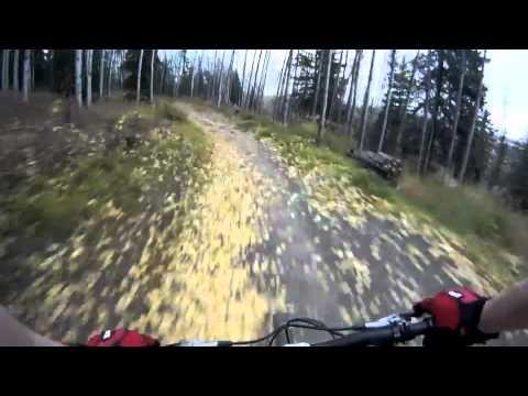 Biking at Birch HIll Ski Area Fairbanks, Ak