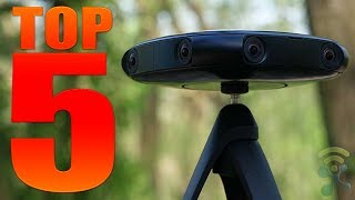 Top 5 Best 360-Degree Cameras VR of 2018 (Including 4K and Mobile Cameras)