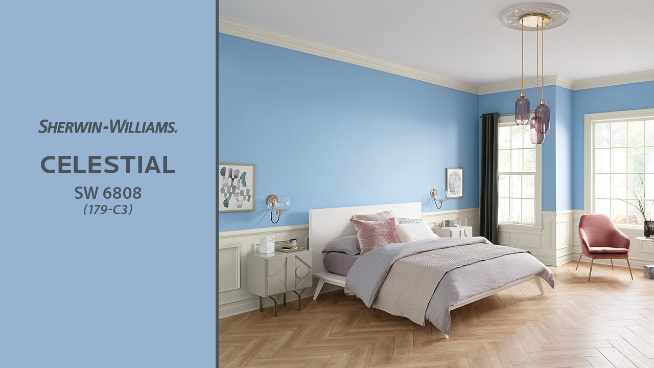 Sherwin Williams: June 2019 Color Of The Month: Celestial