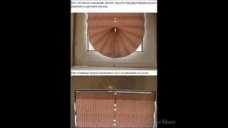 Как сделать жалюзи самому.How to make the most blinds(, 2014-03-04T12:08:04.000Z)