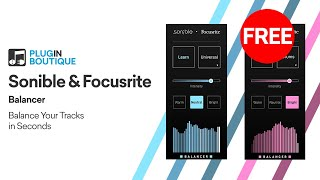 Free VST | Balancer by Sonible Focusrite | Automatic Mixing Plugin