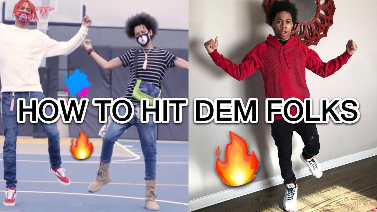 How To Hit Dem Folks Dance Tutorial