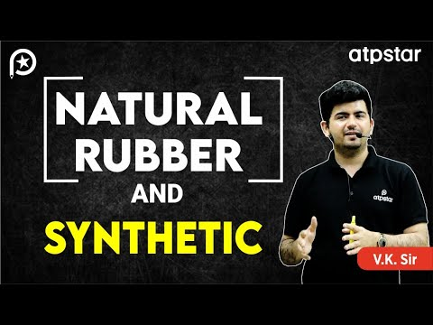 Natural rubber and synthetic rubber-JEE Advanced || Mains (Hinglish)