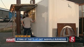 Businesses Report String Of Thefts In East Nashville