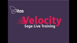 Sage Live Training - Introducing Velocity by Award Winning Sage Business Partner