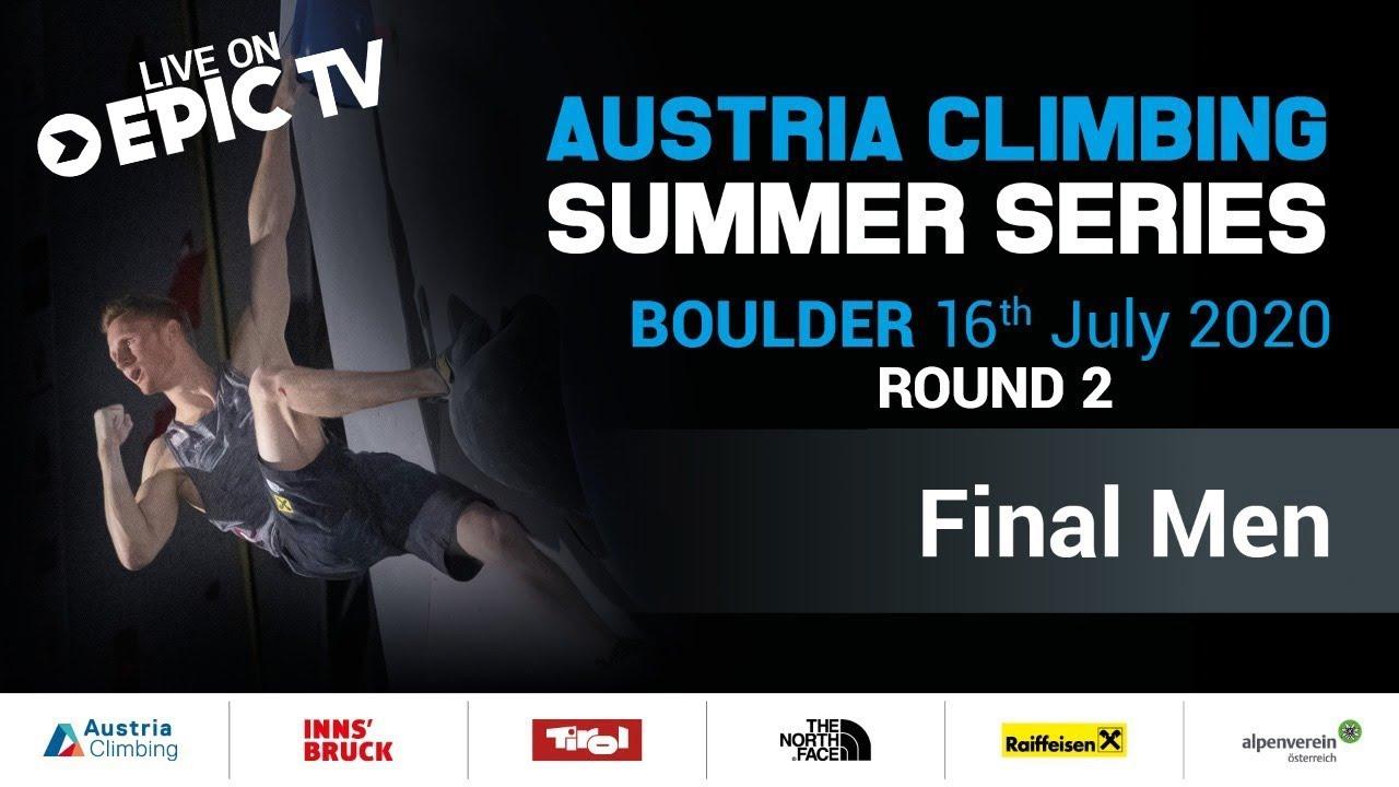 Austrian Climbing Summer Series Innsbruck #2 | Men's Bouldering Finals