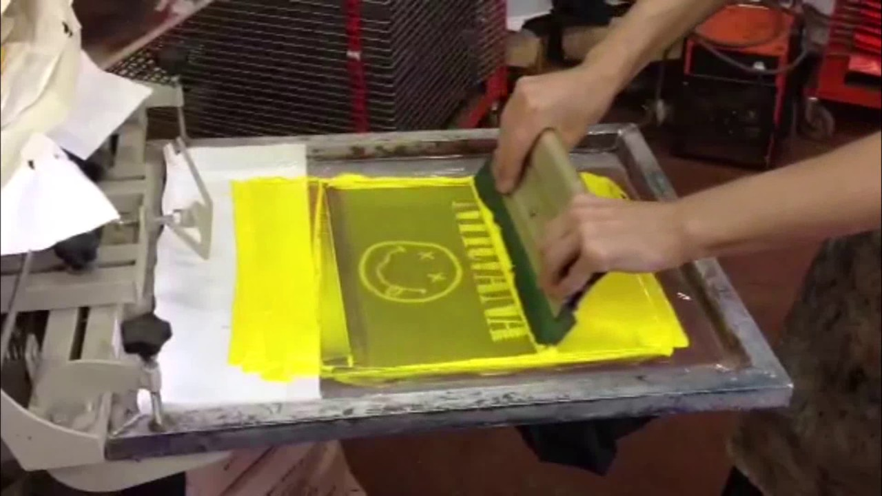 Le t shop making of obsek 4 color process cmyk t shirt youtube - Tshirt Serigraphy